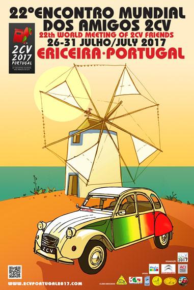 mondiale 2cv au Portugal