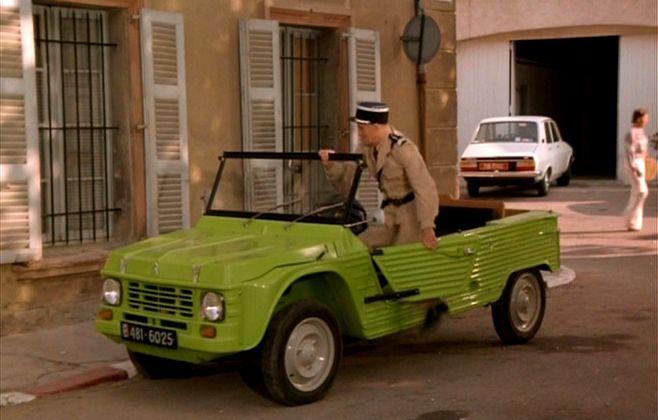 gendarmes de st tropez 2cv