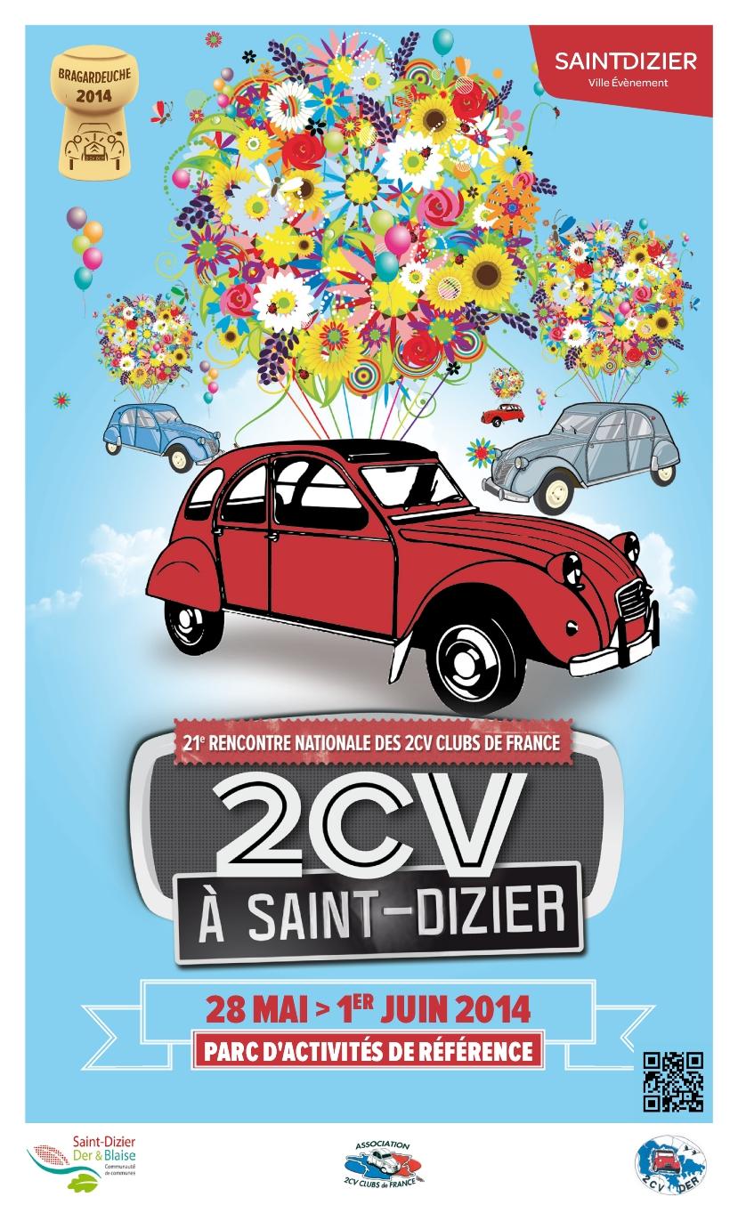 28ème Rencontre Nationale des 2CV Clubs de France – REPORTÉE – Dedeuch Folies