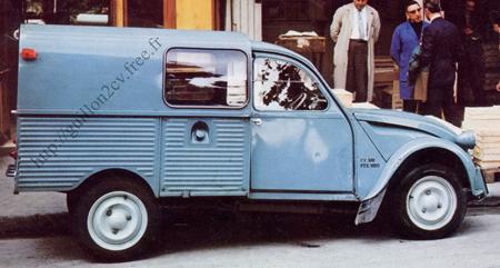 2cv camionnette 1971