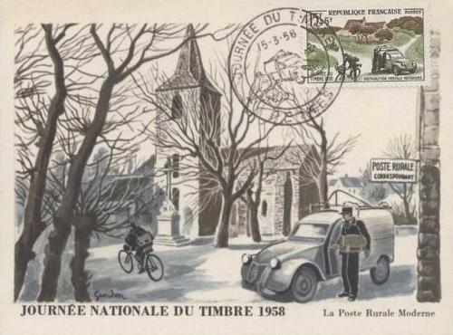 timbres 2cv
