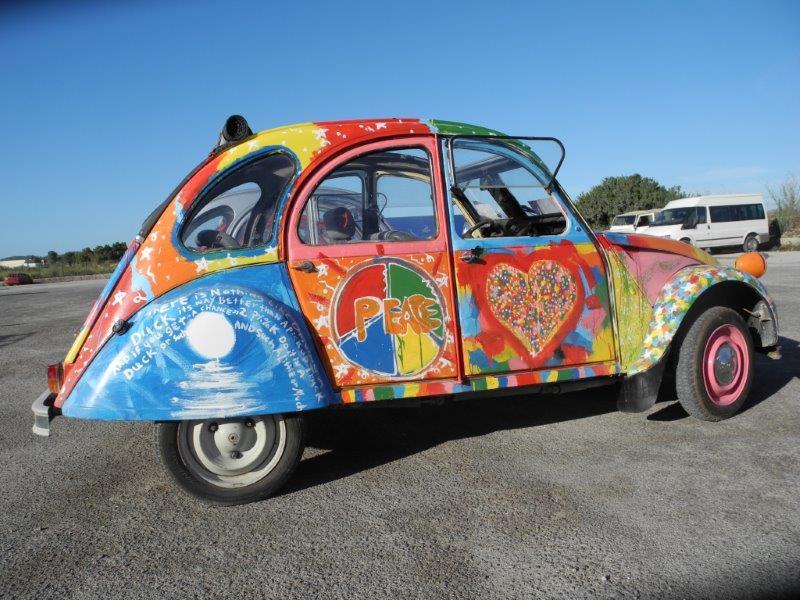 2cv hippie