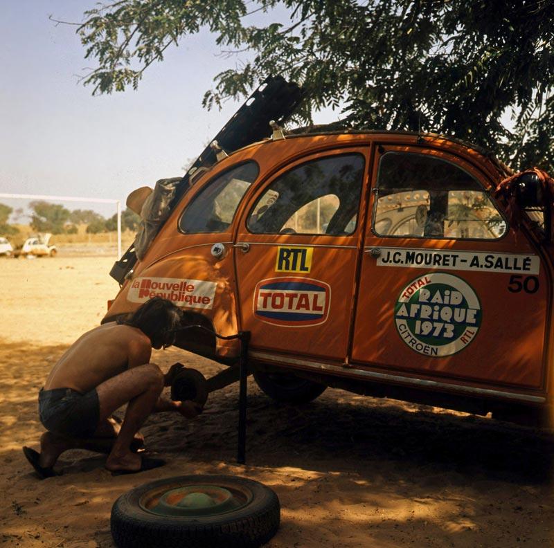 raid afrique 2cv 1973