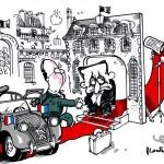 Plantu dessine la 2CV, la voiture normale d'un président qui se prétend normal