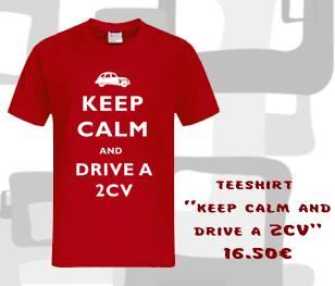 Tee shirt 2CV