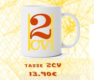 Tasse 2CV