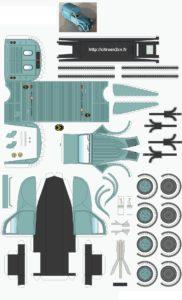 maquette 2cv à construire
