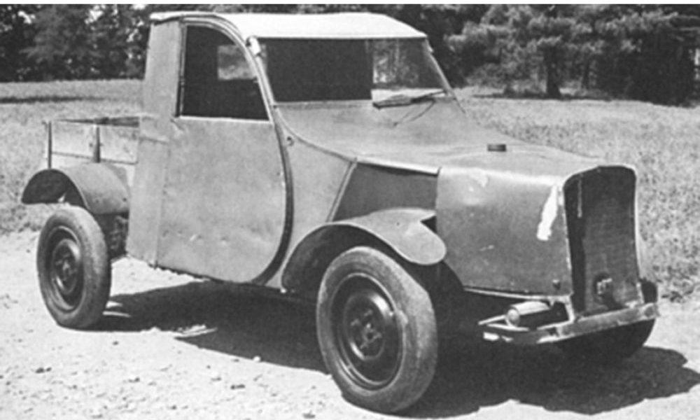 premier prototype 2cv années 30