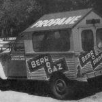 2cv fourgonnette publicitaire PROPANE GAZ