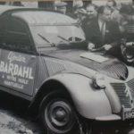 2cv fourgonnette publicitaire SARDHAL