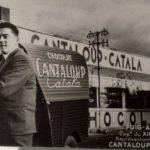 2cv fourgonnette publicitaire CANTALOUP