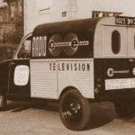 2cv fourgonnette publicitaire RADIO CONTINENTAL EDISON
