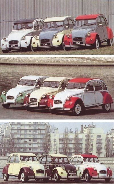 2cv dolly les 3 series
