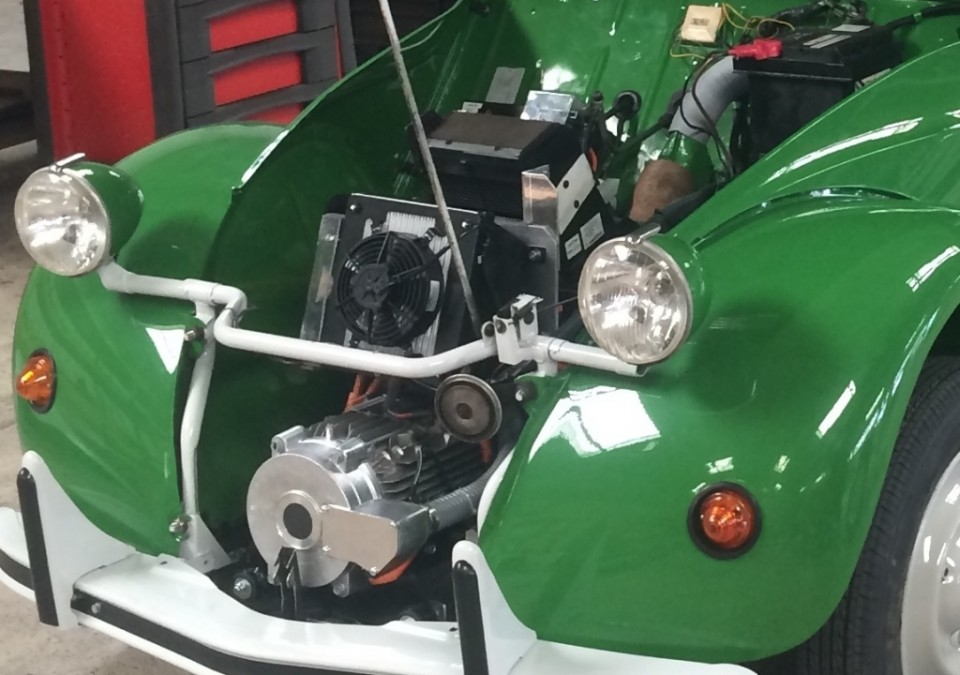 2cv moteur electrique