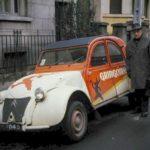2cv fourgonnette publicitaire GRINGOIRE
