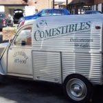 2cv fourgonnette publicitaire COMESTIBLES