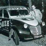 2cv fourgonnette publicitaire SUZE