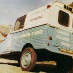 2cv fourgonnette publicitaire camping gaz