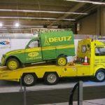 2cv fourgonnette publicitaire DEUTZ