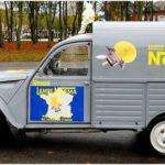 2cv fourgonnette publicitaire NORMA