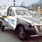 2cv fourgonnette publicitaire FORMICA