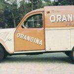 2cv fourgonnette publicitaire ORANGINA
