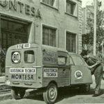 2cv fourgonnette publicitaire MONTESA