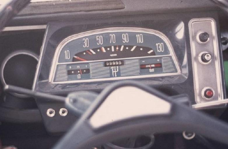 compteur tableau de bord 2cv 1972