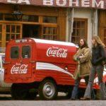 2cv fourgonnette publicitaire COCA COLA