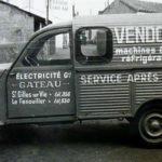 2cv fourgonnette publicitaire VENDOME