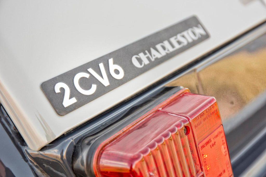 monogramme 2cv 6 charleston