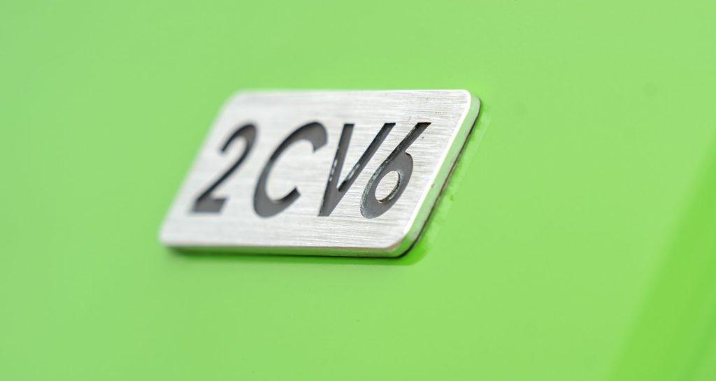 monogramme porte de malle 2CV 6
