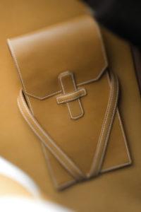 pochette cuir hermes 2cv