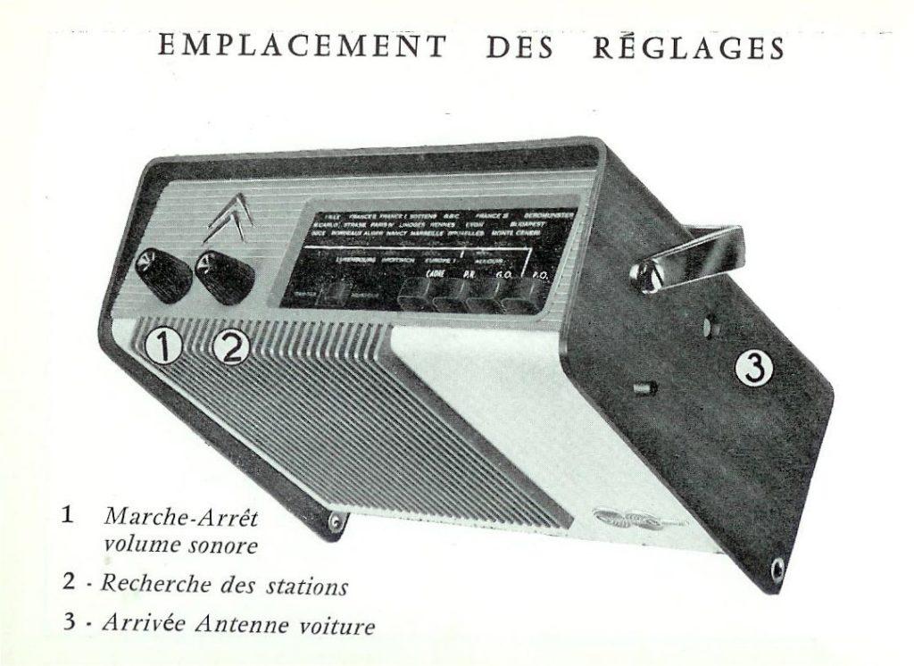 radioen citroen continental edison