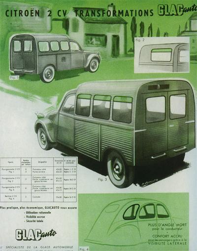 rajout de vitres 2cv GLACauto