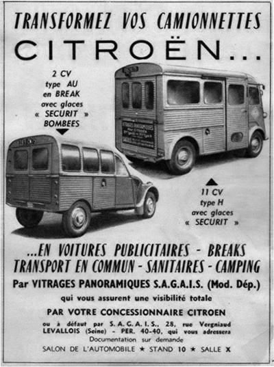 transformez camionnettes en voitures publicitaires