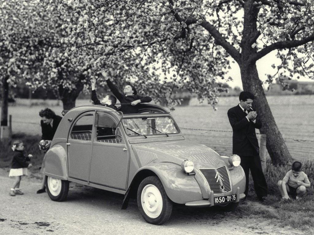 2cv az citroen 1954