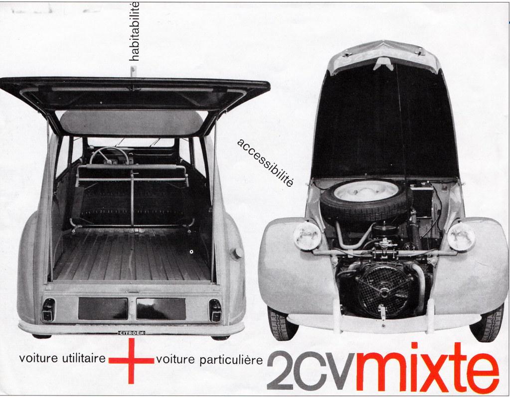 2cv mixte voiture utilitaire enac
