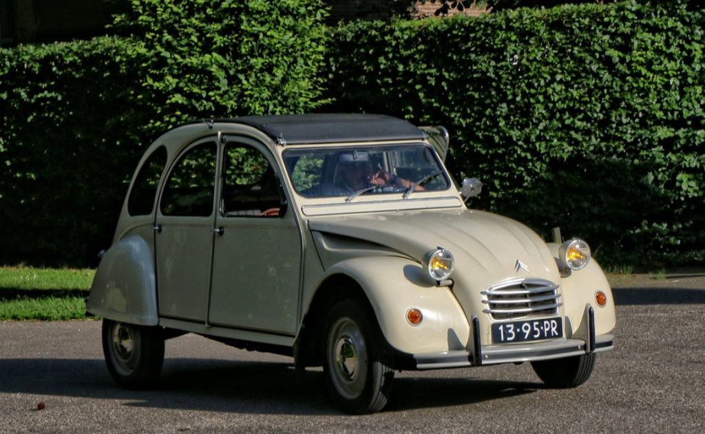 2cv4 1971 citroen phares ronds