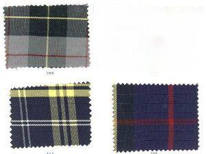 choix disponibles tissus écossais 2cv