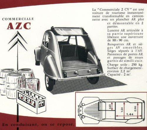 commerciale azc 2cv