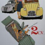 affiche publicitaire 2cv