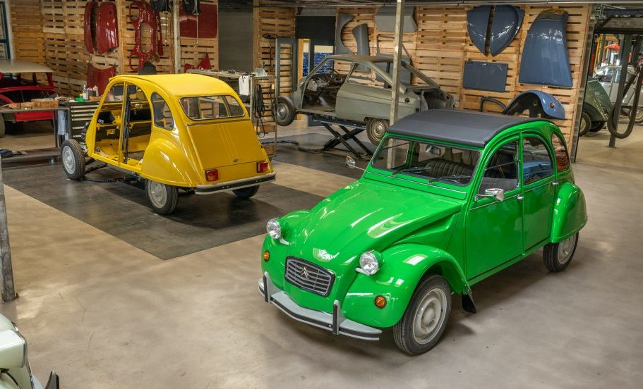 garage 2cv hollande