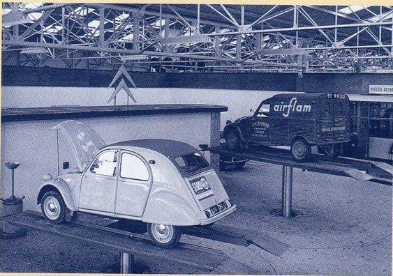 garage Citroën, Pau par le Dr Danche