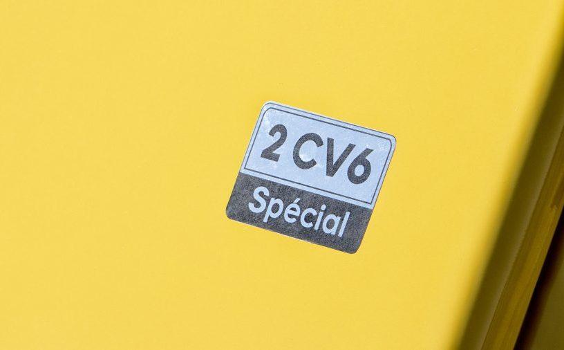 monogramme 2cv 6 special