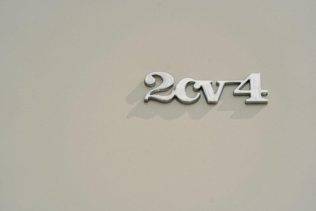 monogramme 2cv4
