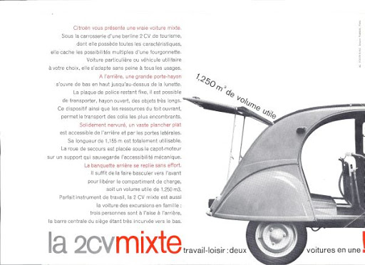 2cv break enac mixte citroen