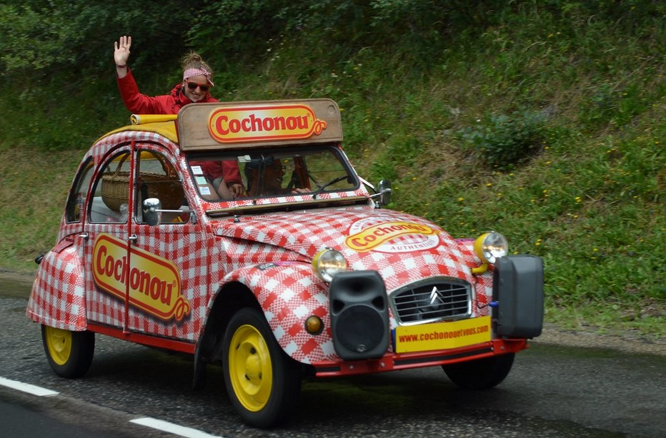 2cv cochonou tour de france