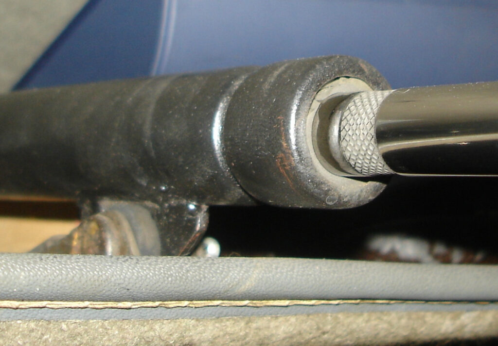 levier de vitesse 2cv cercle moleté