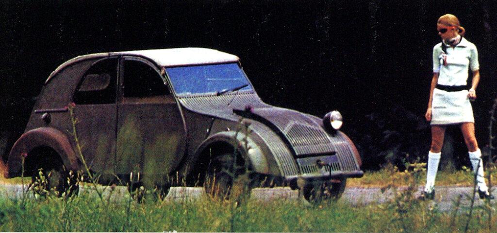 Découverte d'une 2CV de 1939